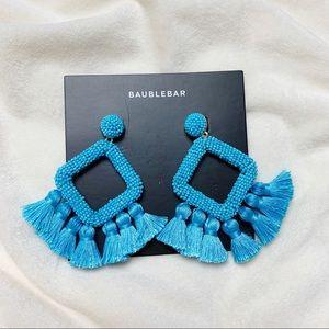 Baublebar Turquoise Laniyah Fringe Drop Earrings